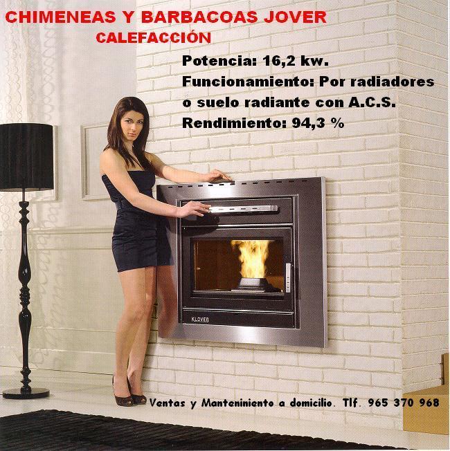 Chimeneas jover calefacci n elda - Adaptar chimenea para calefaccion ...