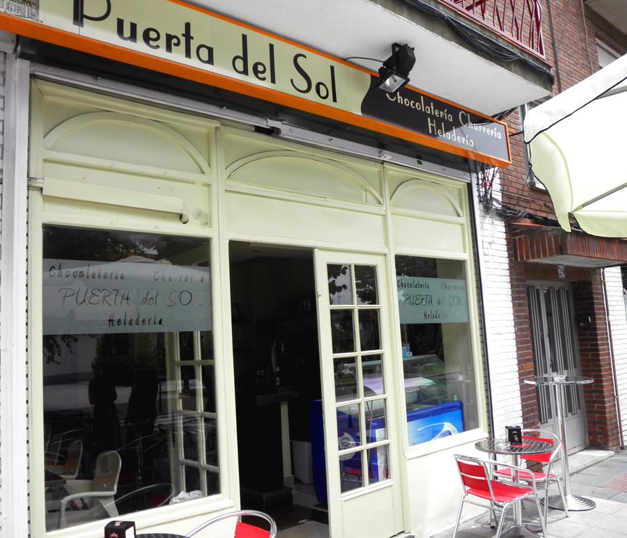Churrerria chocolateria Puerta del Sol Villanueva de la Cañada