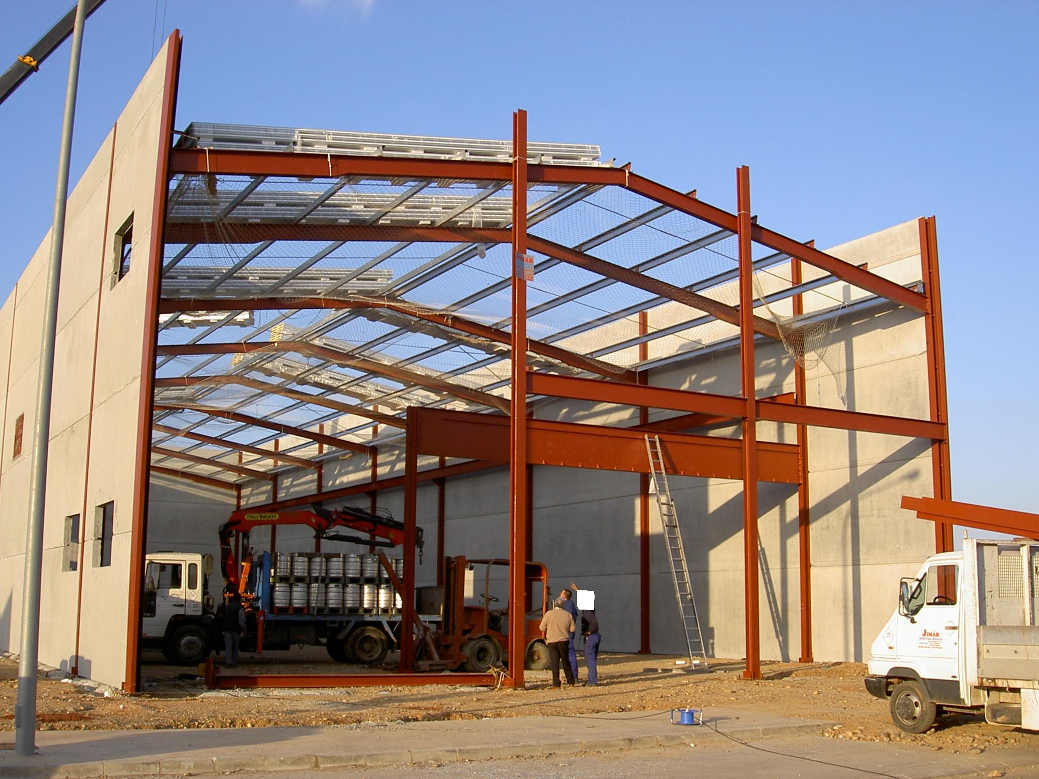 Jimal estructuras met licas s l palma del r o - Fotos de construcciones metalicas ...