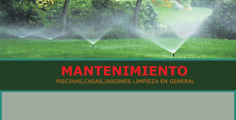 Mantenimiento casas piscinas y jardines palma de mallorca - Piscinas y jardines ...